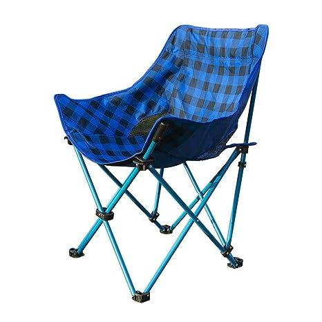 Tmendy Silla plegable para acampar, sillas portátiles ...