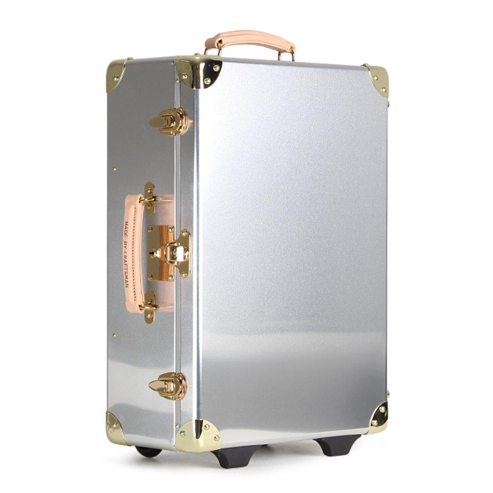 アルミ スーツケース 日本製 機内持ち込み 26L トランクケース キャリーケース トランクキャリー アルミニウム MADE BY CRAFTSMAN メイド バイ クラフトマン Made in JAPAN MBC-001 B07BB6Y74W