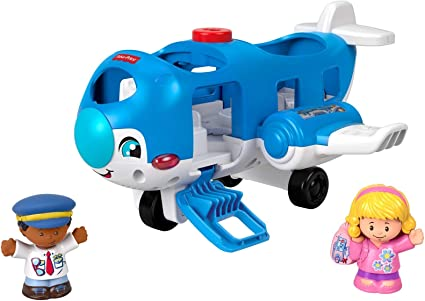 Fisher-Price Little People Vehicle Airplane Large Standard Packaging