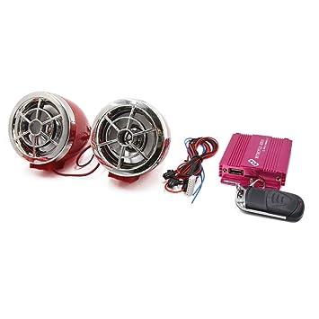sourcing map Altavoz Amplificador Audio Mp3 Reproductor Rosa ...