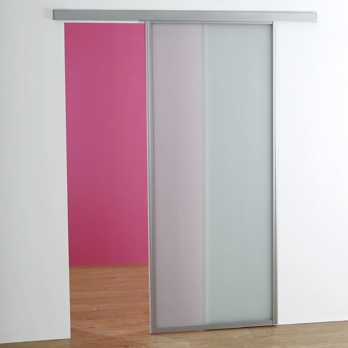 Zimmertüren glas satiniert  Schiebetür Zimmertür auf Maß bis 1200x2700mm Glas satiniert mit ...