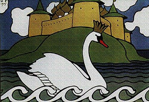 (Art Needlepoint Swan Kit by Ivan Biliben)