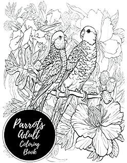 Amazoncom Parrot Coloring Book Nature Series 9781442125117
