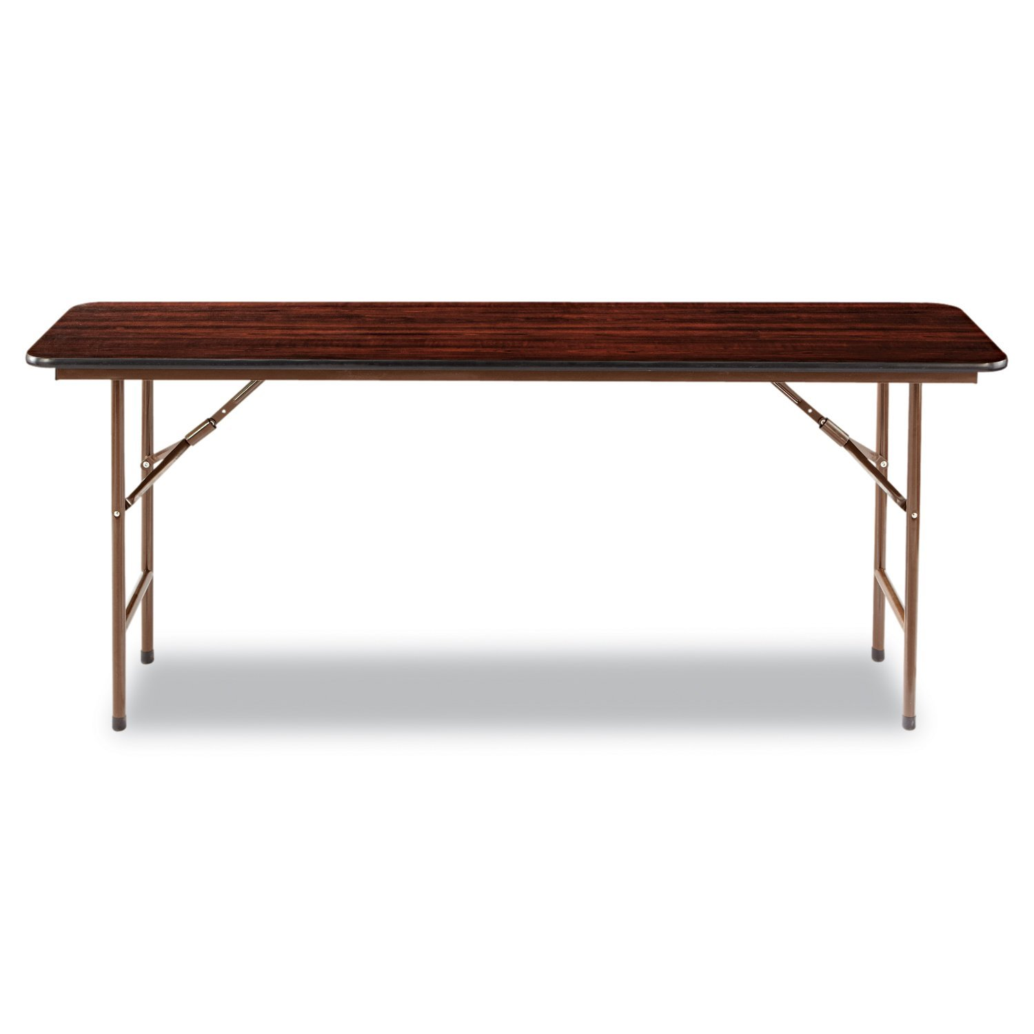 amazon com alera folding rectangular table 72 by 18 by 29 inch