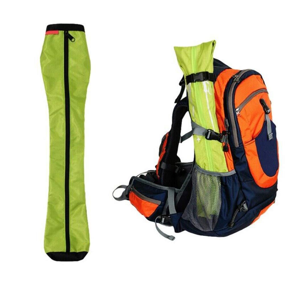 Azul SUNERLORY Trekking Pole Bag Plegable Port/átil Senderismo Impermeable Escalada Accesorios Almacenamiento Oxford Pa/ño Al Aire Libre Hebilla Ajustable Viaje Caminar Llevar /Útil
