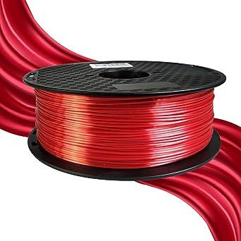 Silky Silk - Filamento de impresión 3D (1,75 mm, 1 kg ...