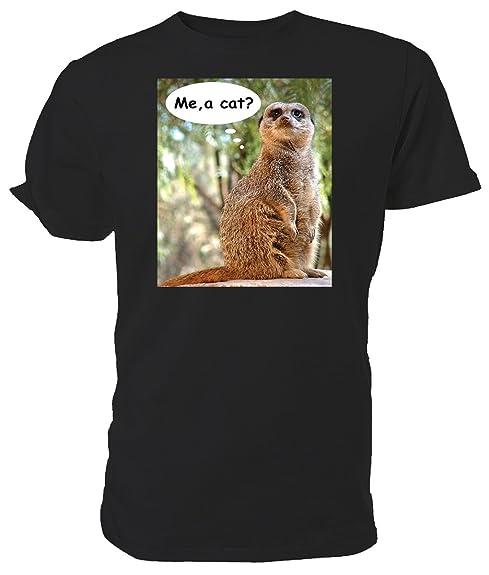 E Un GattoAmazon itScarpe T Borse Meerkat ShirtMe E2IWDH9