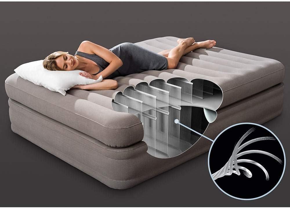 Amazon.com: Intex - Colchón hinchable con colchón hinchable ...