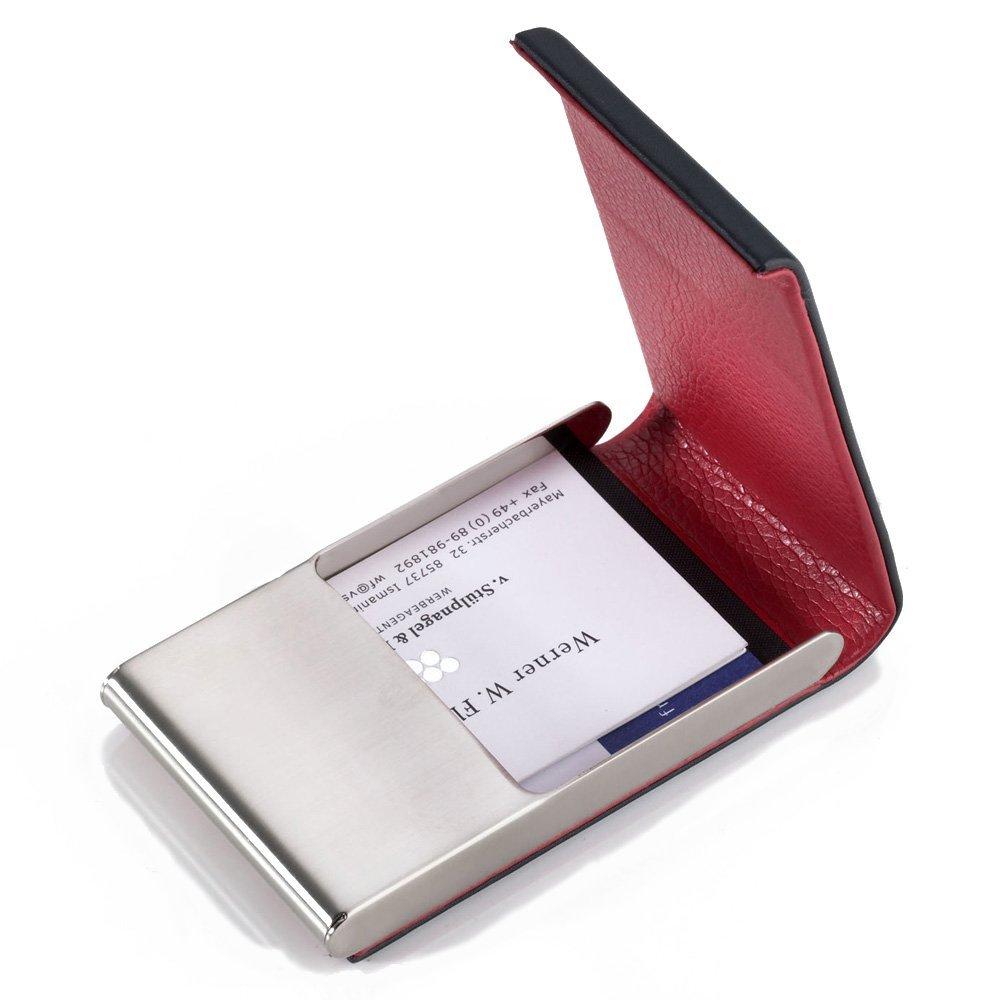 Amazon.com: TROIKA RED PEPPER – CDC42/LE – Business card case ...