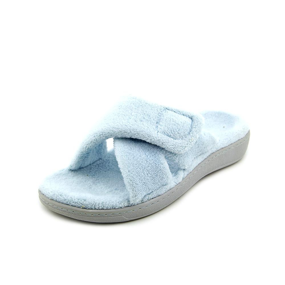 Vionic Womens Relax Slippers in Light Blue Size 7