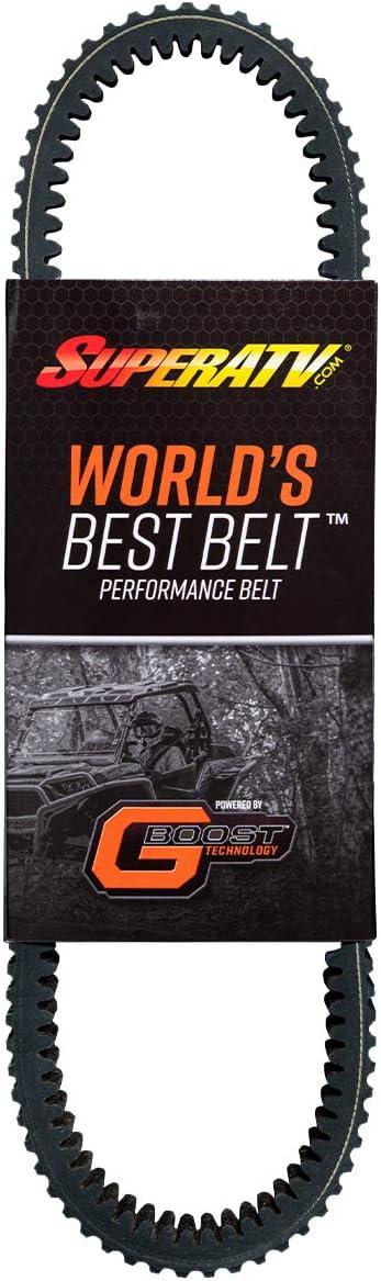 SuperATV Worlds Best CVT Drive Belt for 2017 Polaris Ranger XP 1000//2017-2018 Ranger XP 1000 CREW 400HP Shock Load Rating! Smooth Engagement