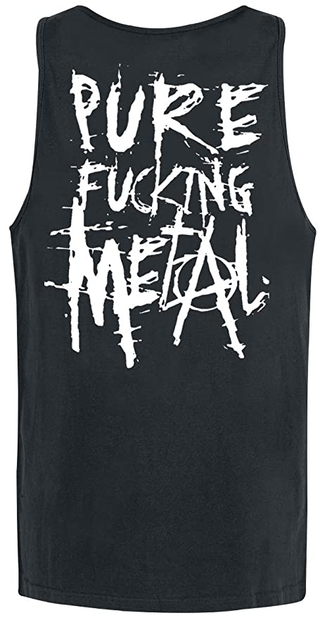 Arch Enemy Pure Fucking Metal Top Tirante Ancho Negro