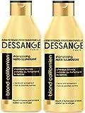 Dessange - Blond Californien Shampooing Nutri-Illuminant Pour Cheveux Blonds, Colorés Ou Fortement Eclaircis - 250 ml - Lot de 2