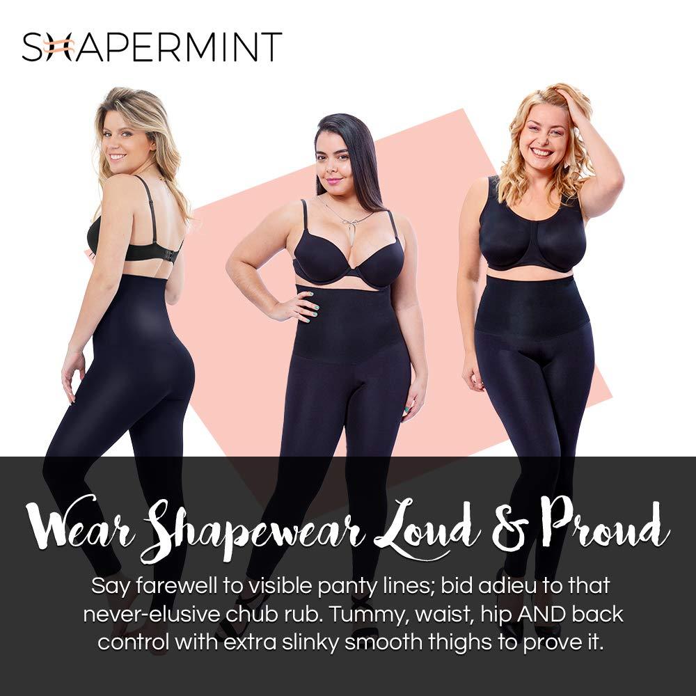 1d4e60f3e24 Shapermint: Empetua High-Waisted Shaping Leggings at Amazon Women's  Clothing store:
