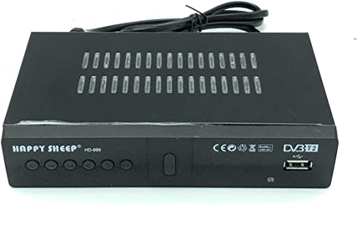 Decodificador, receptor digital terrestre, DVB-T2 TV euroconector HDMI 1080P REG PVR HD 999: Amazon.es: Electrónica