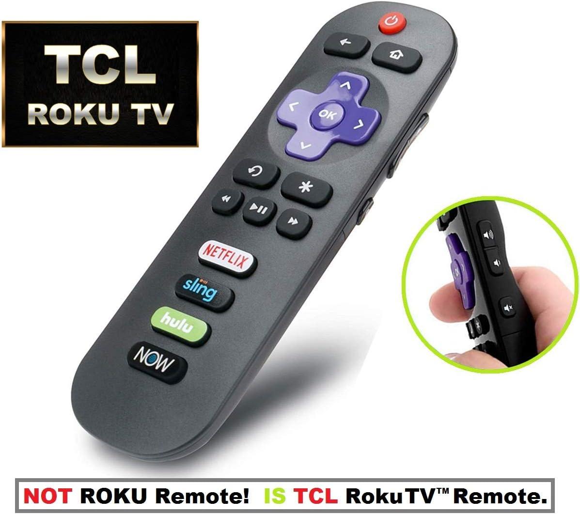 IKU-GRO9 - Mando a Distancia de Repuesto para televisor TCL ROKU ...