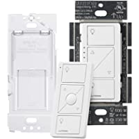 Lutron Caseta Smart Home Dimmer Switch and Pico Remote Kit, Works with Alexa, Apple HomeKit, and the Google Assistant…