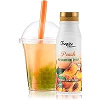 Fruitsiroop voor Bubble tea Perzik, 300 ml