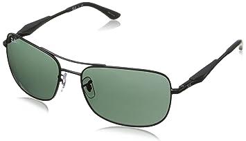 RAY BAN RAY-BAN Herren Sonnenbrille » RB3515«, schwarz, 006/71 - schwarz/grün
