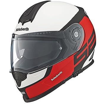 Schuberth S2 Sport Elite Rojo Motocicleta Casco
