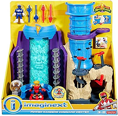 Imaginext BUNDLE Power Rangers Command Center Gift Set