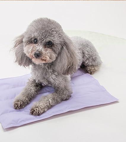 Alfombra de Hielo para Mascotas Alfombra de enfriamiento para el Verano Alfombra no pegajosa Colchón para