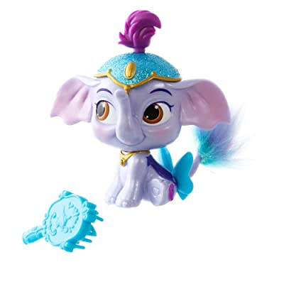 Disney Princess Palace Pets - Furry Tail Friends Doll - Jasmine's Elephant, Taj: Toys & Games