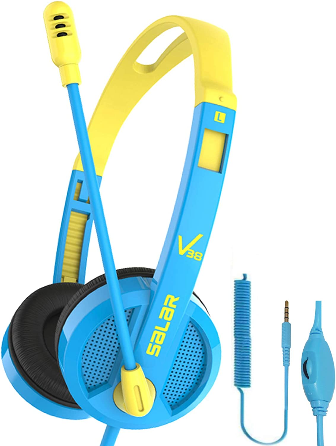 Kids Headphones Wired Over Ear Headphone. this is one of the best wired headphones for the kids