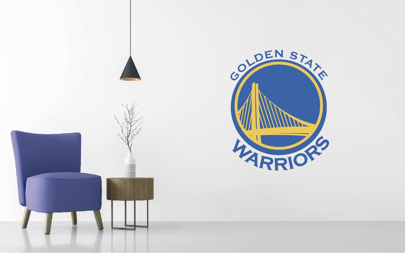 Wall Decal Removable /& Reusable For Home Bedroom Wide 30x37 Height Basketball Team Logo