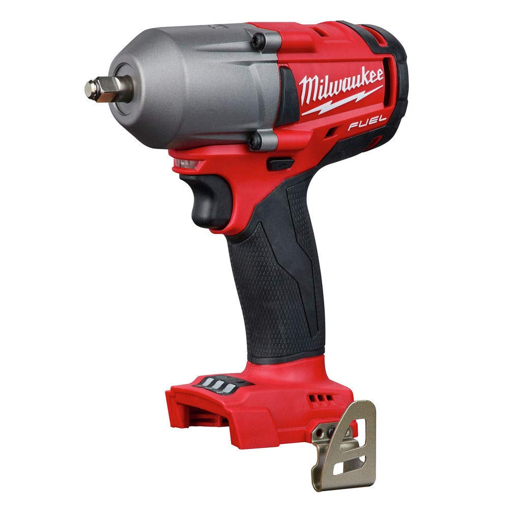 Milwaukee 2852-20 M18 Fuel 18-Volt Lithium-Ion Brushless Cordless Mid Torque 3/8 in. Impact Wrench with Friction Ring (Tool-Only) by Milwaukee (Image #1)