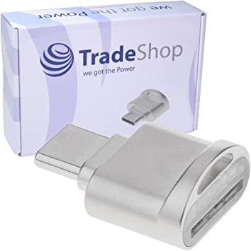 USB 3.1 tipo C Micro SD Card Reader Lector de tarjetas lector ...