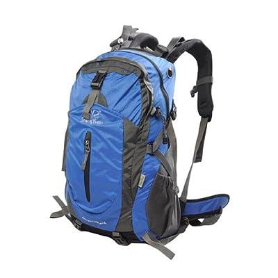 LF&F Backpack Camping et randonnée sacs à dos Sac à dos d'alpinisme de 40 l de capacité sac à dos sac à dos mâle et femelle avec housse de pluie solide et durable sac &agrav