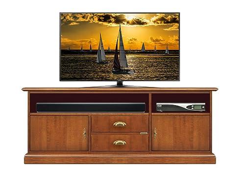 Tv-Lowboard Für Soundbar 150Cm, Schrank Tv Mit Raum Für Soundbars