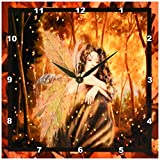 Cheap 3dRose LLC forest Fairy 10 by 10-Inch Wall Clock