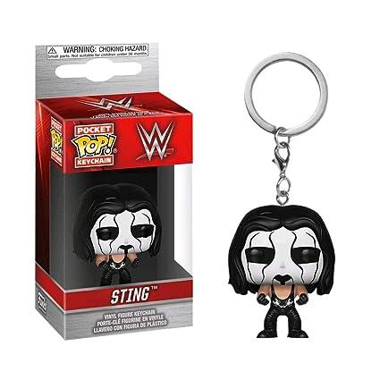 Amazon.com : WWE Authentic Wear Stng POP! Keychain Multi ...