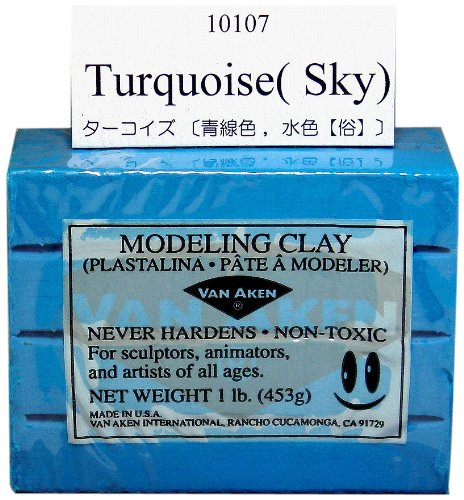 Van Aken - Modeling Clay - 1 lb. - Turquoise