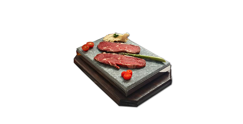 Promoci/ón 4 Sets Piedra volc/ánica 20x30x3 Especial Restaurante