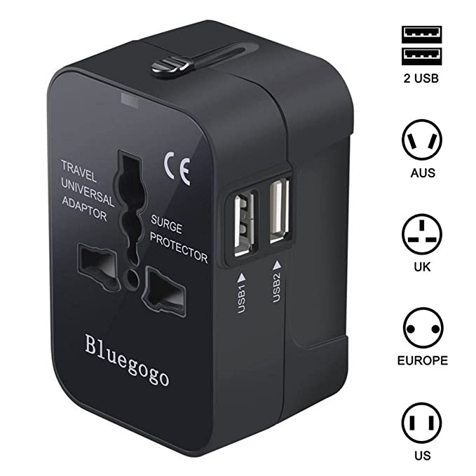The Universal Travel Adapter travel product recommended by Priyadarshini Rajendran on Lifney.