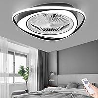LED Luz Ventilador Invisible Moderno Ventilador De Techo Con Lámpara Ultra…