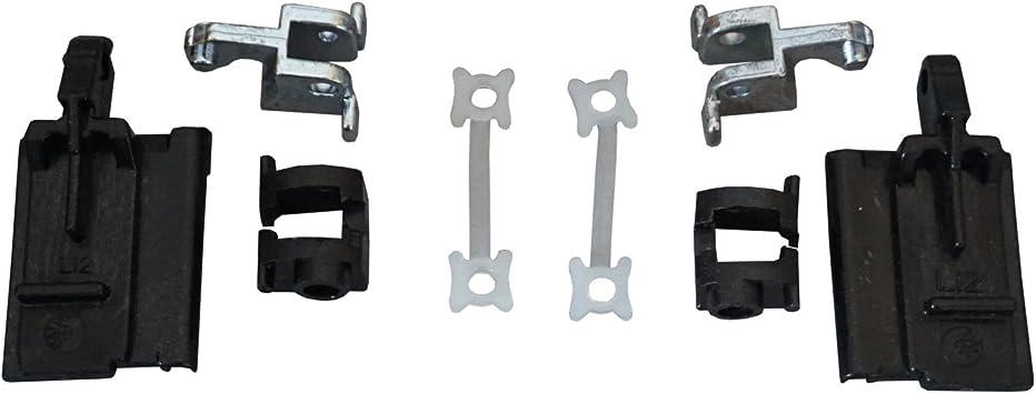 2x Clips For BMW Sunroof Slider Rail Repair E36 E39 E46 E53 Black Plastic