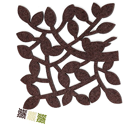 dulce-cocina-chocolate-twigs-coasters-drink-absorbent-large-set-of-6