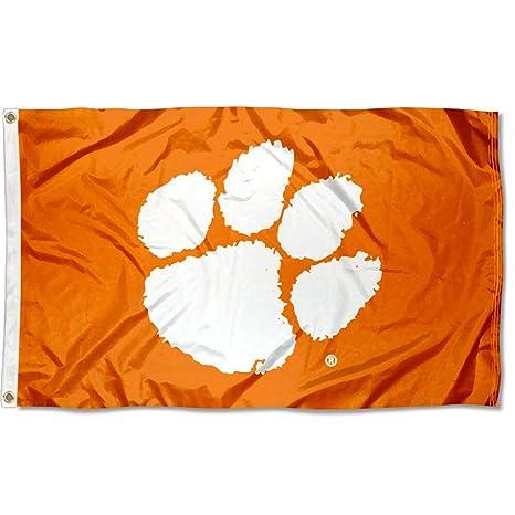 amazon com clemson tigers cu university large college flag