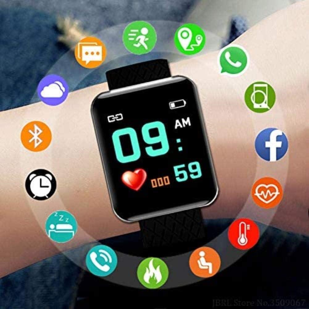 Sport spettacoli Donne Uomini Elettronica Fitness Tracker Smart Clock Orologio Blu Viola