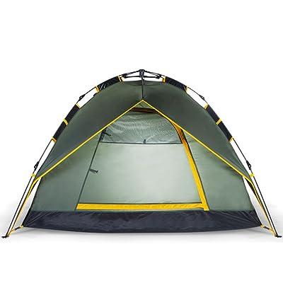 Tente Extérieur 3-4 personnes Entièrement Automatique Ensembles De Famille D'équipement Terrain Camping 2 Personnes Imperméable Double couche Portable Tourisme