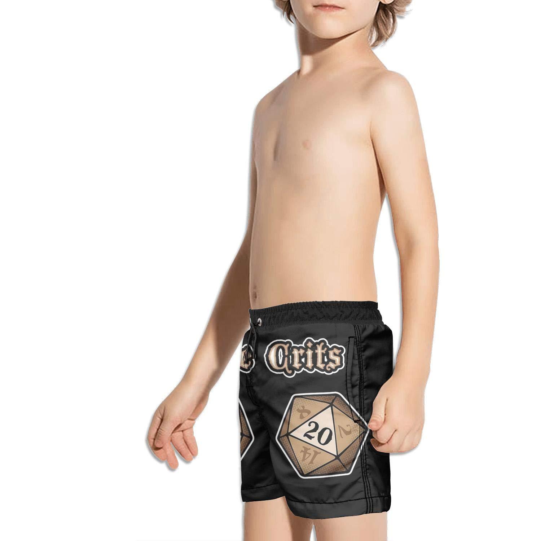 Etstk Twenty Sided dice Kids Comfortable Shorts for Boys