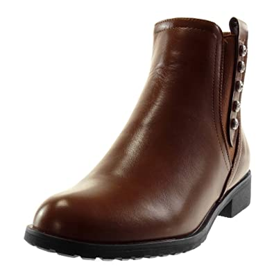 Angkorly Bottine Chelsea Femme Chaussure Boots Mode Cavalier qwTqnZ0Fr