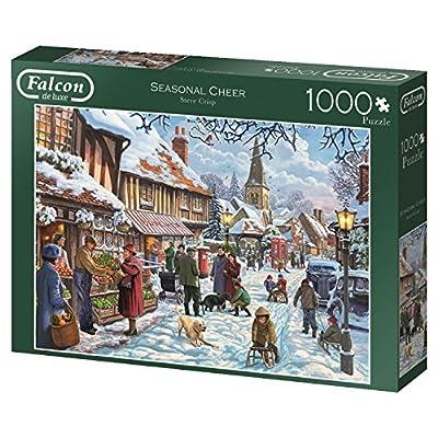 Jumbo Spiele 11191 Puzzle Da 1000 Pezzi Falcon Seasonal