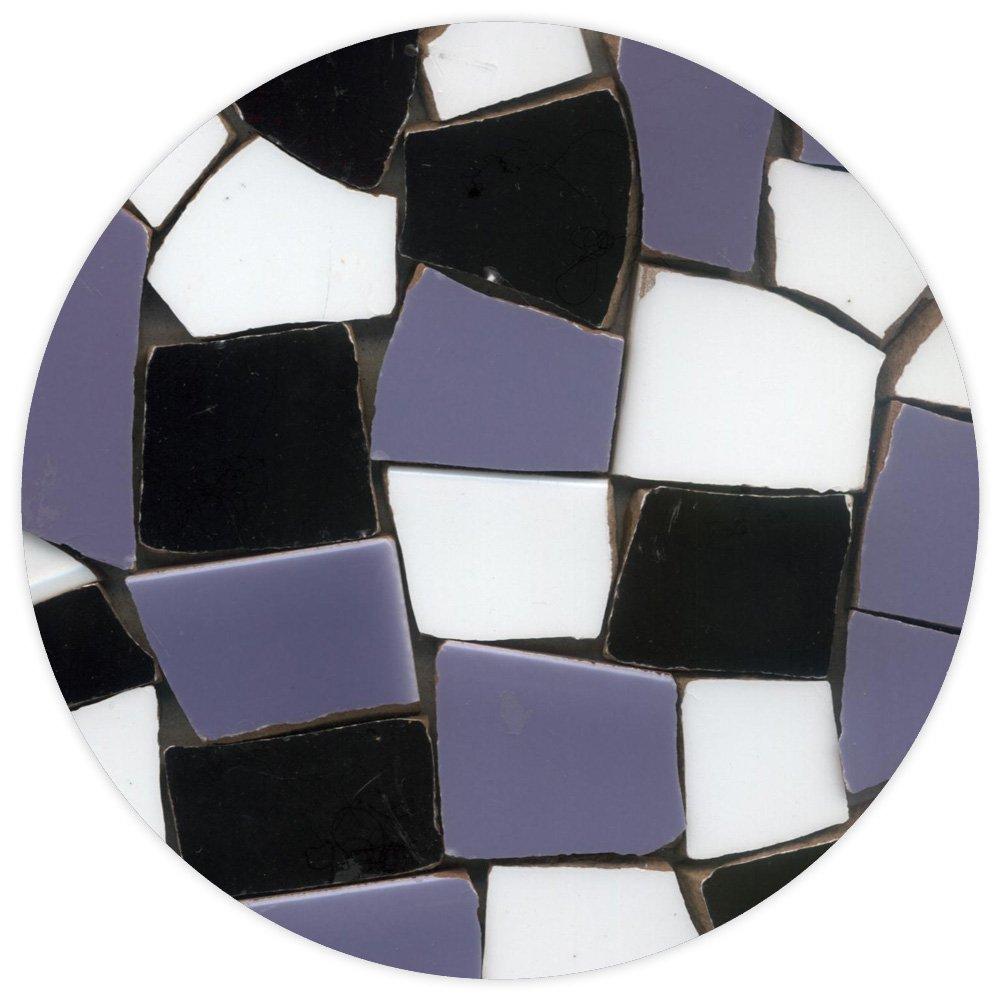 ALEA Mosaic Mosaico Piastrelle (2Kg) Mix Bianco e Nero, BMXN ALEA Mosaik