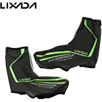 Lixada Cycling Overshoes,MTB Mountain Bike Bicycle Warm Shoe Covers Waterproof Windproof Rain Snow Boot Protector Overshoes for Men Women