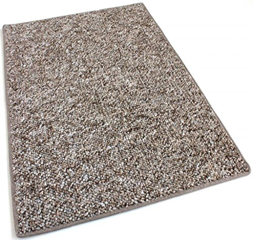 7'x12' - Fudge Ripple - Indoor/Outdoor Area Rug Carpet, Runners & Stair Treads with a Premium Nylon Fabric FINISHED EDGES.